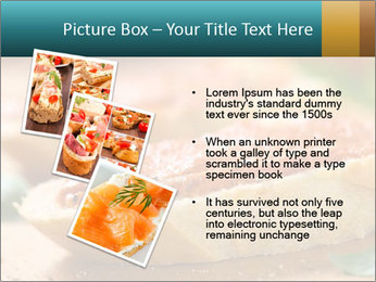 Bread With Tomato Topping PowerPoint Template - Slide 17