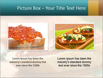 Bread With Tomato Topping PowerPoint Template - Slide 18