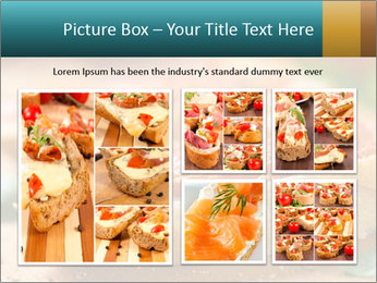 Bread With Tomato Topping PowerPoint Templates - Slide 19