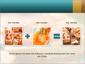 Bread With Tomato Topping PowerPoint Template - Slide 22