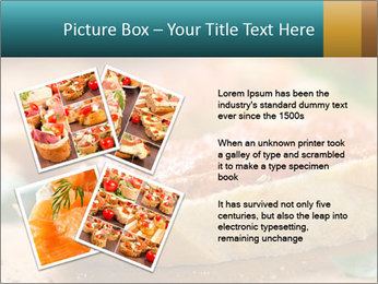 Bread With Tomato Topping PowerPoint Template - Slide 23