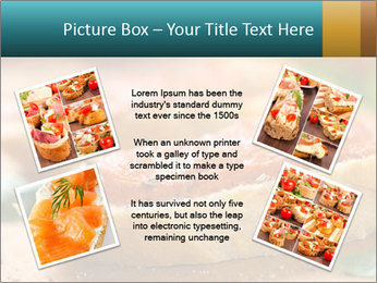 Bread With Tomato Topping PowerPoint Template - Slide 24