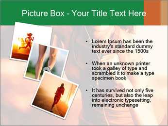 Running Woman In Red Light PowerPoint Template - Slide 17