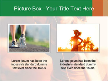 Running Woman In Red Light PowerPoint Template - Slide 18