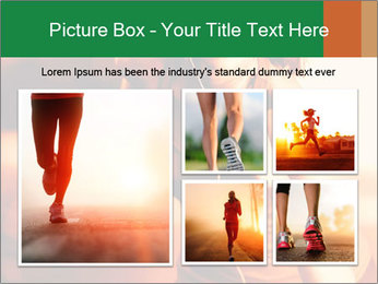 Running Woman In Red Light PowerPoint Template - Slide 19