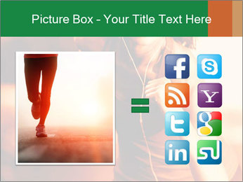 Running Woman In Red Light PowerPoint Template - Slide 21