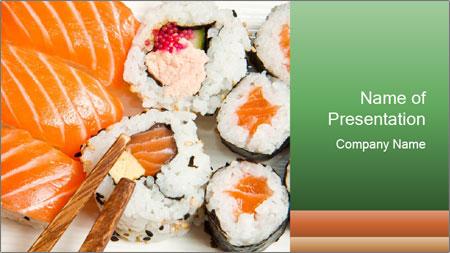 Japanese Restaurant PowerPoint Template