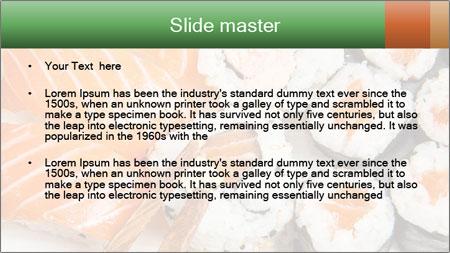 Japanese Restaurant PowerPoint Template - Slide 2