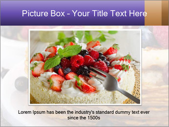 Russian Pancakes With Berries PowerPoint Templates - Slide 15