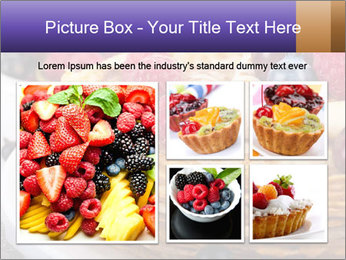 Russian Pancakes With Berries PowerPoint Templates - Slide 19