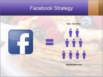 Russian Pancakes With Berries PowerPoint Templates - Slide 7