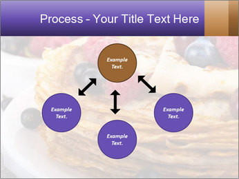 Russian Pancakes With Berries PowerPoint Templates - Slide 91