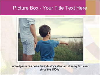 Afro-American Father With Son PowerPoint Templates - Slide 16