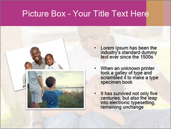 Afro-American Father With Son PowerPoint Template - Slide 20