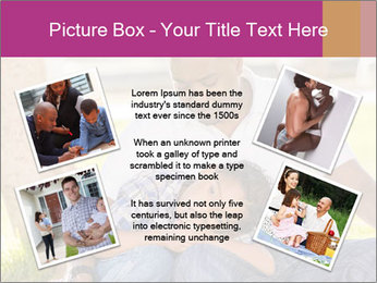 Afro-American Father With Son PowerPoint Template - Slide 24