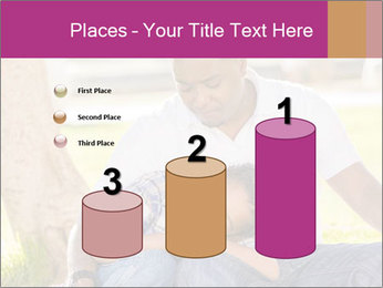 Afro-American Father With Son PowerPoint Templates - Slide 65