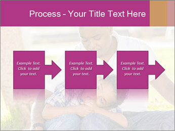 Afro-American Father With Son PowerPoint Templates - Slide 88
