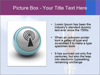 Telecommunications Equipment PowerPoint Template - Slide 13