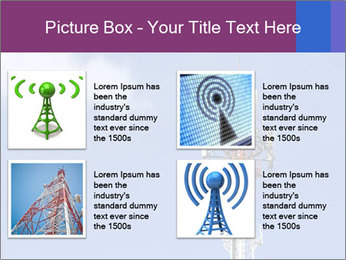 Telecommunications Equipment PowerPoint Template - Slide 14