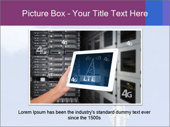 Telecommunications Equipment PowerPoint Template - Slide 16