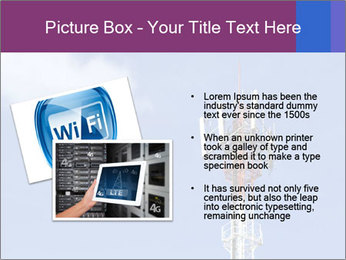 Telecommunications Equipment PowerPoint Template - Slide 20