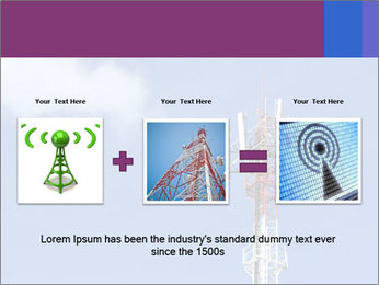 Telecommunications Equipment PowerPoint Template - Slide 22