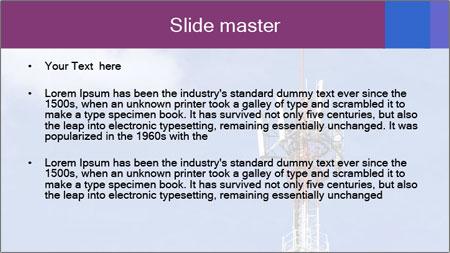 Telecommunications Equipment PowerPoint Template - Slide 2