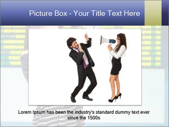 Woman With Loudspeaker At Airport PowerPoint Template - Slide 15