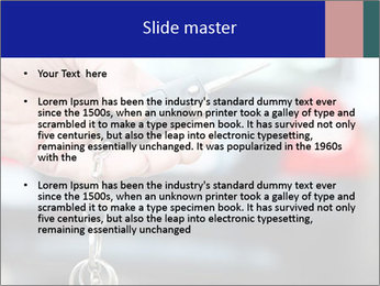 Auto Key PowerPoint Template - Slide 2