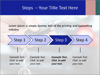Auto Key PowerPoint Template - Slide 4