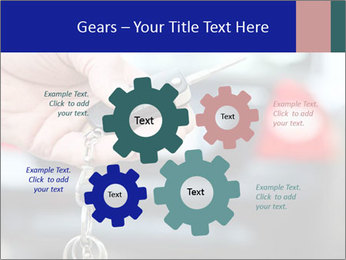 Auto Key PowerPoint Template - Slide 47