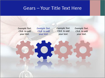 Auto Key PowerPoint Template - Slide 48