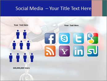 Auto Key PowerPoint Template - Slide 5