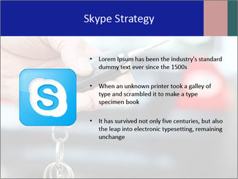 Auto Key PowerPoint Template - Slide 8