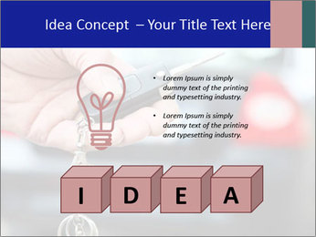 Auto Key PowerPoint Template - Slide 80