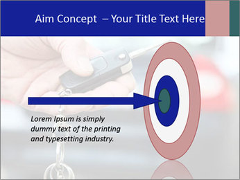 Auto Key PowerPoint Template - Slide 83