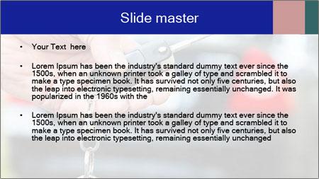 Auto Key PowerPoint Template - Slide 2