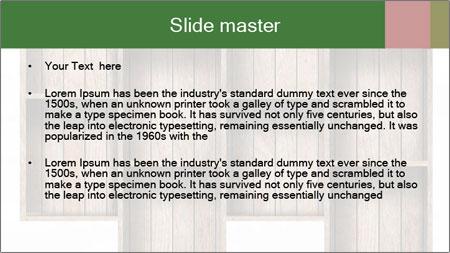 Wooden Furniture PowerPoint Template - Slide 2