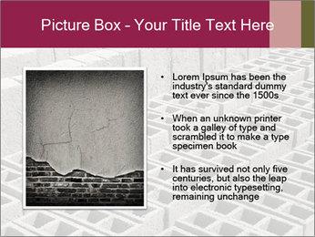 Concrete Bricks PowerPoint Template - Slide 13