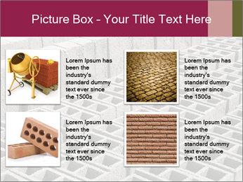 Concrete Bricks PowerPoint Template - Slide 14