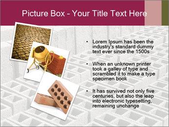 Concrete Bricks PowerPoint Template - Slide 17