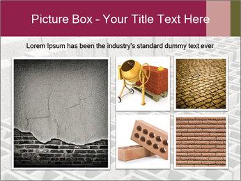 Concrete Bricks PowerPoint Template - Slide 19