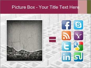 Concrete Bricks PowerPoint Template - Slide 21