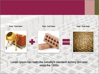 Concrete Bricks PowerPoint Template - Slide 22