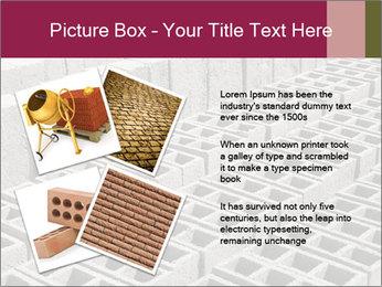 Concrete Bricks PowerPoint Template - Slide 23