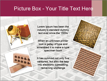 Concrete Bricks PowerPoint Template - Slide 24