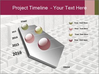 Concrete Bricks PowerPoint Template - Slide 26