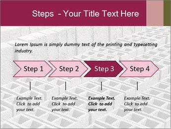 Concrete Bricks PowerPoint Template - Slide 4