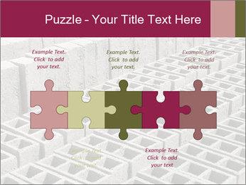 Concrete Bricks PowerPoint Template - Slide 41