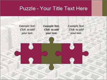 Concrete Bricks PowerPoint Template - Slide 42